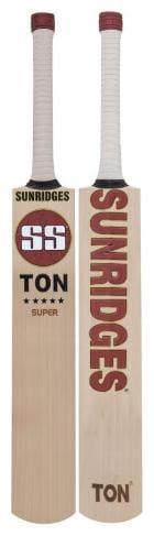 SS Retro Classic Super English Willow Cricket Bat (Size - SH)