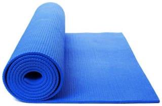 ST Gold Blue Pvc Yoga mat - 1 pc