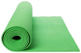 ST Gold Green Pvc Yoga mat - 1 pc