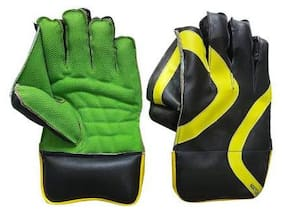 st gold  Wicket keeping gloves size -mens-l 1 pair