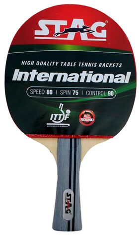Stag International TT Racquet With Case