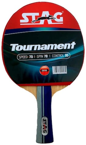 STAG TOURNAMENT TABLE TENNIS MULTICOLOR RACKET