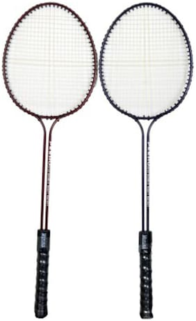 Star X Monika Strung Badminton Racquet-Blue And Red (Grip Size-G4)