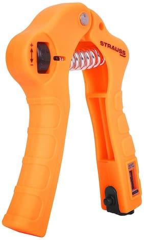 Strauss Adjustable Hand Grip Strengthner With Counter, (Orange)