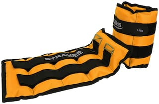 Strauss Ankle Weight 1.5 kg (Each)  (Yellow)