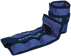 Strauss Ankle Weight 1 kg (Each)  (Blue)