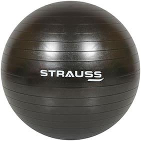 Strauss Anti-Burst Gym Ball, 75 CM, (Black)
