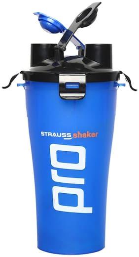 Strauss Dual Shaker Pro 700ml (Blue)
