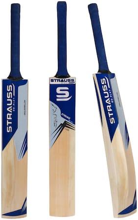 Strauss English Willow Cricket Bat 11000, (Short Handle)