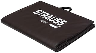 Strauss Brown Pvc Exercise mat - 1 pc