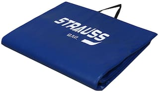Strauss Blue Pvc Exercise mat - 1 pc
