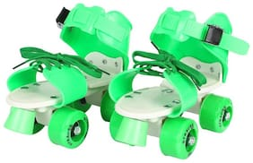Strauss Green Medium Roller skates