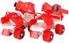 Strauss Red Medium Roller skates