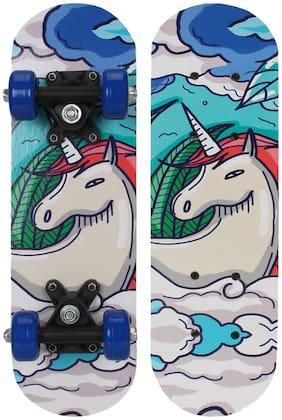Strauss Kids Skateboard (White Horse)