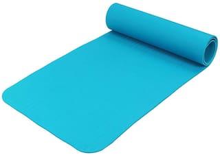 Strauss PE Eco-Friendly Yoga Mat  6mm (Blue)