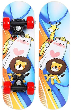 Strauss Lion Kids Skateboard, Age 3-5 years