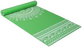 Strauss Meditation Designer Yoga Mat, 5 mm, (Green)