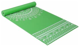 Strauss Meditation Designer Yoga Mat, 5 mm, (Green)