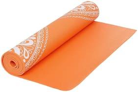 Strauss Meditation Butterfly Yoga Mat, 5 mm, (Orange)