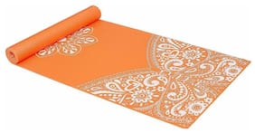 Strauss Meditation Butterfly Yoga Mat, 5 mm, (Orange)