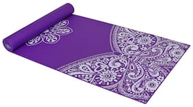 Strauss Meditation Butterfly Yoga Mat, 5 mm, (Purple)