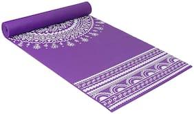 Strauss Meditation Designer Yoga Mat, 5 mm, (Purple)