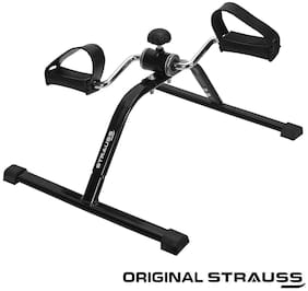 Strauss Mini Cycle Exercise Bike, (Black)