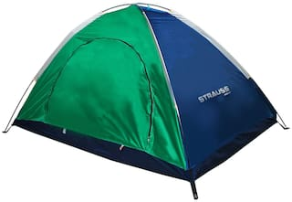 Strauss Portable Waterproof Camping Tent, 2 Persons (Multi Color)