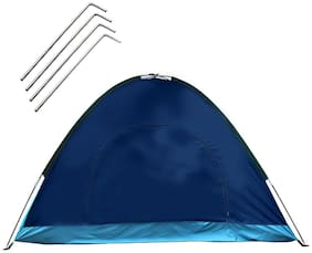Strauss Portable Waterproof Camping Tent, 6 Persons (Multi Color)