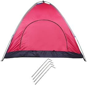 Strauss Portable Waterproof Camping Tent, (4 Persons)