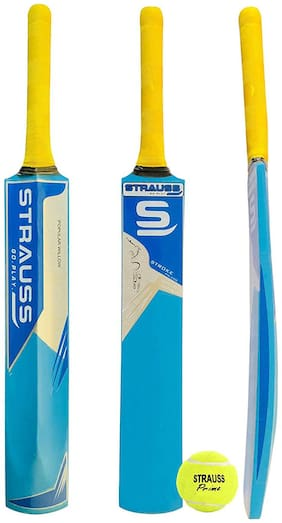 Strauss PW-200 Popular willow Cricket Bat With Ball