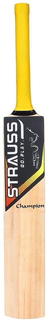Strauss ST-1597 Kashmir Willow Cricket Bat, (For Boys)