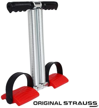 Strauss Tummy Trimmer Pro Resistance Tube (Red)