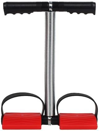 Strauss Tummy Trimmer Ab Exerciser (Red, Black)