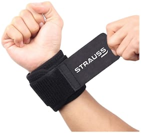 Strauss Wrist Support, Free Size (Black)