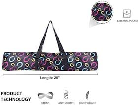 Strauss Yoga Mat Bag Floral (Full Zip)