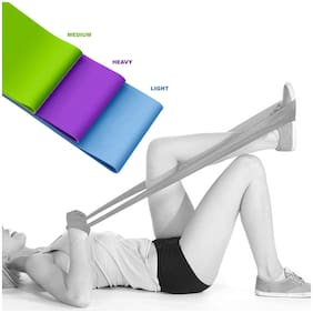 Strauss Yoga Resistance Bands (Pack of 3)