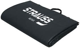 Strauss Black Pvc Yoga mat - 1 pc