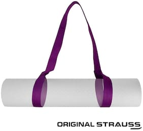 Strauss Yoga Mat Strap, (Purple)
