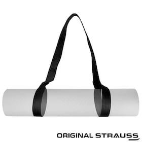 Strauss yoga mat Strap,(Black)