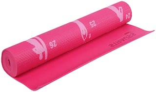 Strauss Pink Pvc , Foam Yoga mat - 1 pc