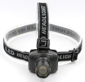 Super Bright Mini LED Zoomable Headlamp 3 Modes Sports Camping Fishing Head Lamp