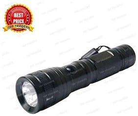 Super Professional Police LED Torch Lamp Flashlight Light Camping Hike - 11 Cm