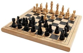 Superior Quality Wooden Folding Portable Chess Board