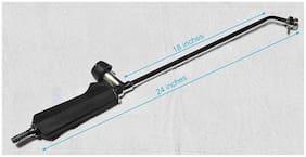 Superior Quality - 45.72 cm (18 Inch) (Nozzle Length) LPG flamethrower / gas gun / spray torch / gas burner with Flat Handle - Superior Quality