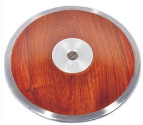 Surjeet Sports discus throw disc wooden disc long lasting performance & durability 2kg disc