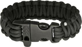 Survival Bracelet Black      Brand: Combat Ready     Item Number: CBR361