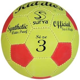 Surya Football (size 3) Multicolor