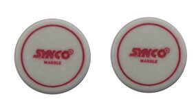 Synco Carrom Accessories - Supershot Striker (Red - 2Pcs Pack)
