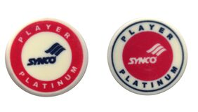Synco Carrom Accessories - Player Series Platinum Striker (Red Combo)